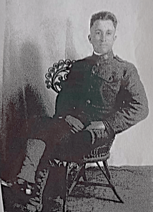John Thomas Toll in his WWI United States Air Service uniform