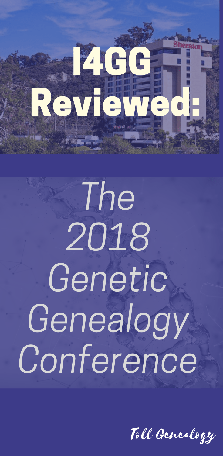My review of Day One, \'Company\' day at the 2018 I4GG - International Genetic Genealogy Conference, held in San Diego.