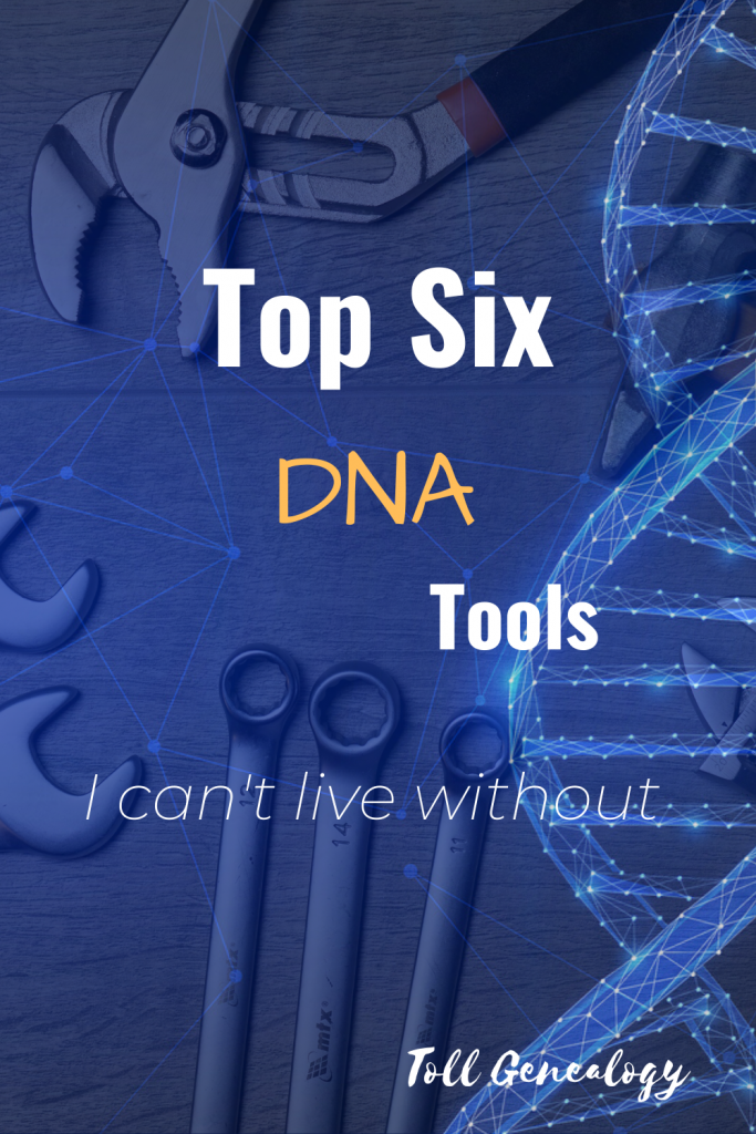 Top Six DNA Tools Pin