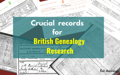 Crucial records for British genealogy research